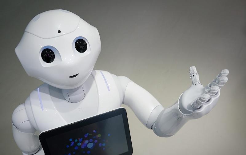 Robot testifica ante el parlamento Británico
