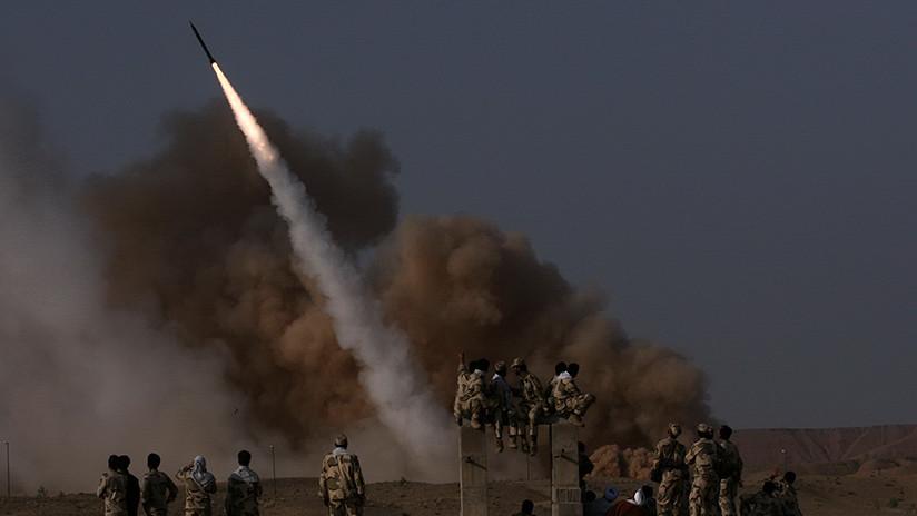VIDEO. Irán destruye con misiles balísticos bases militares terroristas en siria