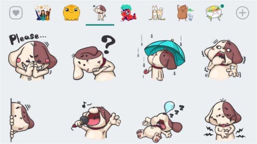 Mira los nuevos y divertidos stickers de WhatsApp