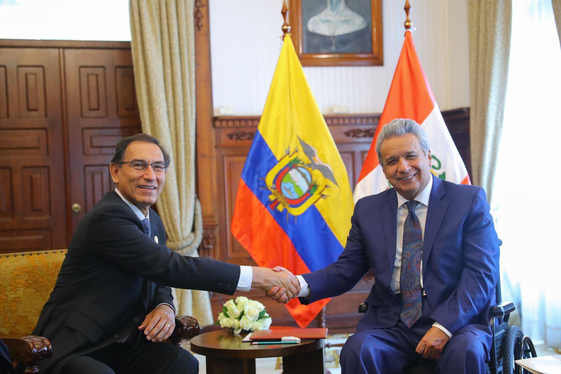 Perú. Se fortalecen los lazos de amistad con el Ecuador
