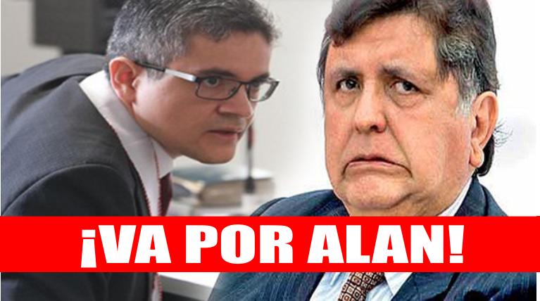 Lima: Fiscal Domingo Pérez someterá a interrogatorio a Alan García por corrupción en el Metro