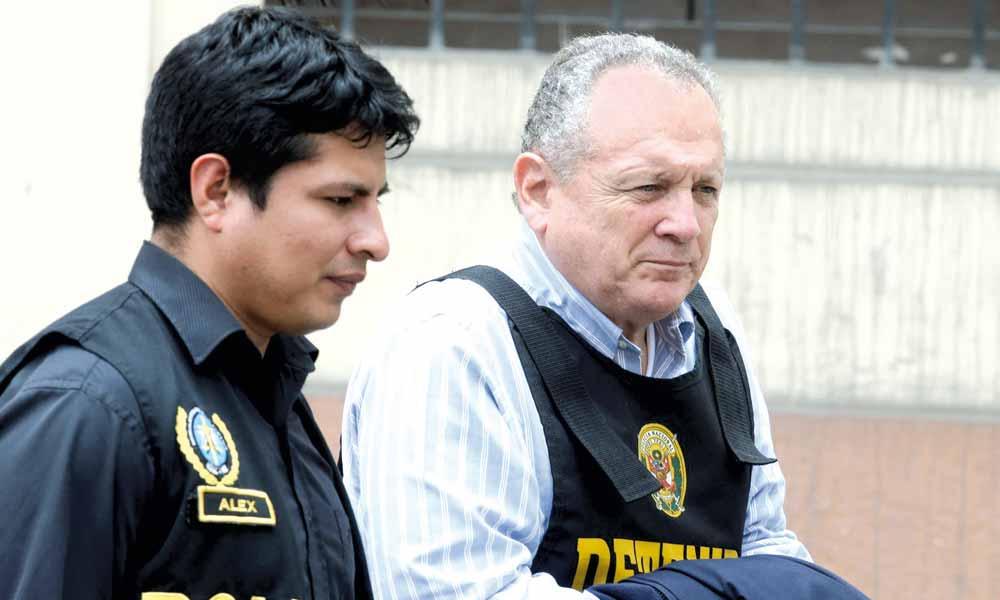 Perú: El cerebro de la señora K, Silva Checa es enviado por el juez a prisión por 36 mese