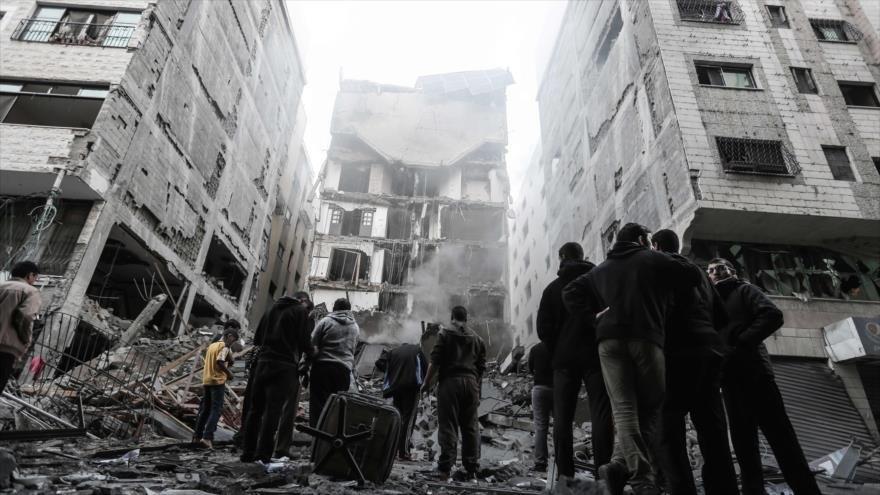 Medio Oriente: Siria condena los recientes ataques del régimen de Israel contra Gaza y expresa su solidaridad con los palestinos.