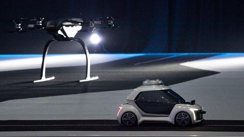 Extraordinario taxi volador Autónomo vuelve locos a todos por su increíble contenido