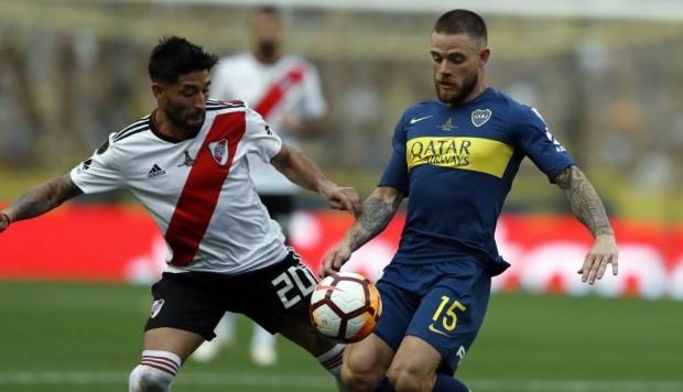 Argentina: Boca y River  igualan en el clásico por la copa libertadores.