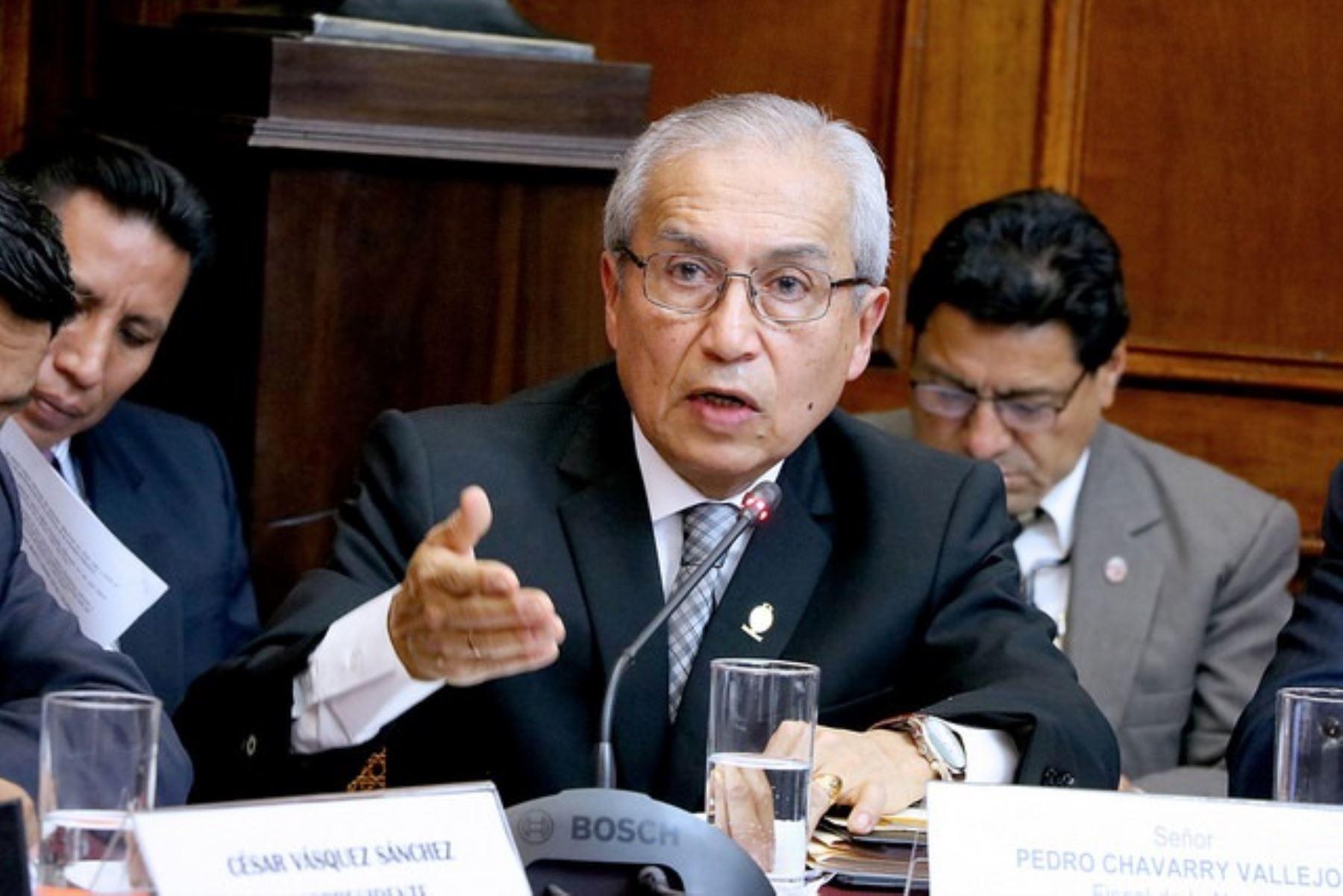 Perú: Fiscal Chávarry niega que haya persecución de su despacho a congresistas del PPK