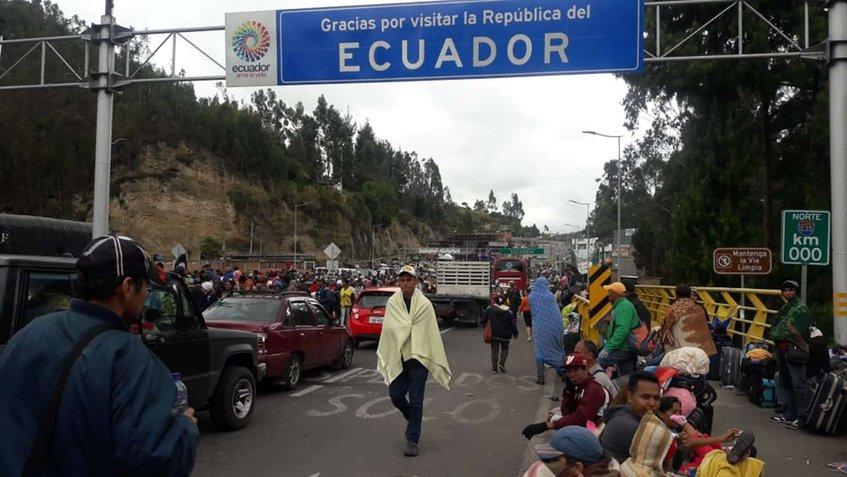 Ecuador promueve un plan para controlar el respeto a los derechos de venezolanos