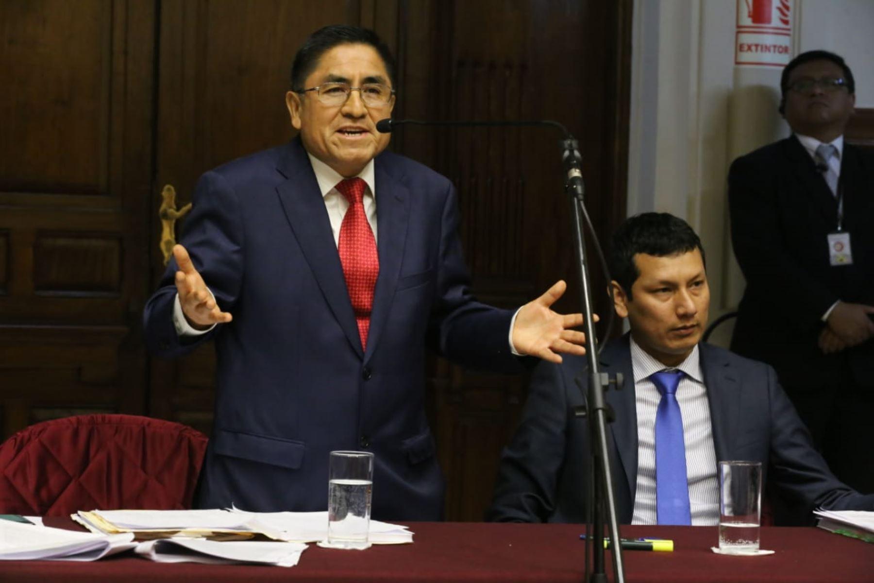 Perú: Ministerio de justicia remite el cuaderno de extradición de Hinostroza a la Fiscalía