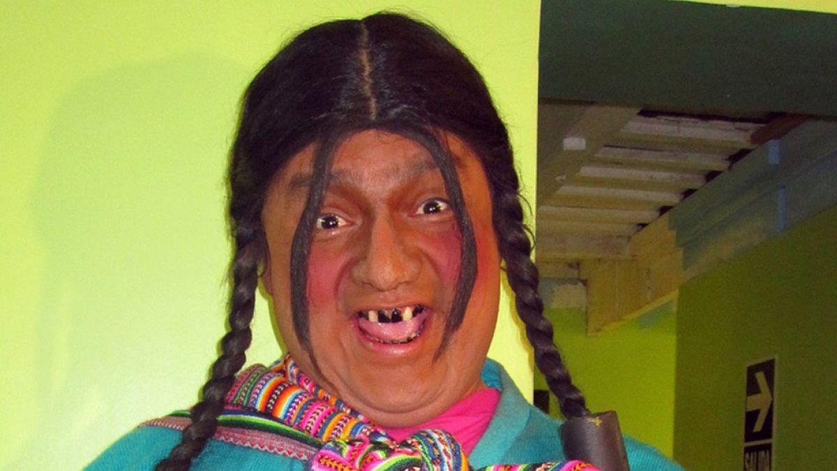 La 'Paisana Jacinta' queda fuera de la TV. por denigrar a la mujer cusqueña. (JUDICIAL)