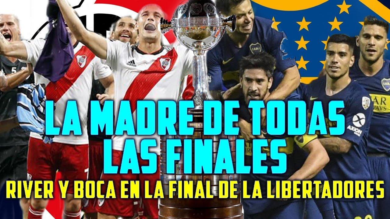 Choque de titanes. River-Boca la final mas esperada de la Libertadores