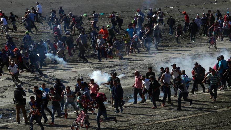 Evo Morales lamenta el bombardeo y castigo causado a los migrantes por EEUU