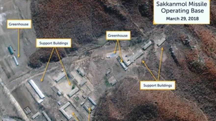 """""""Pyongyang promueve programas de misiles en más de 10 bases secretas"""""""
