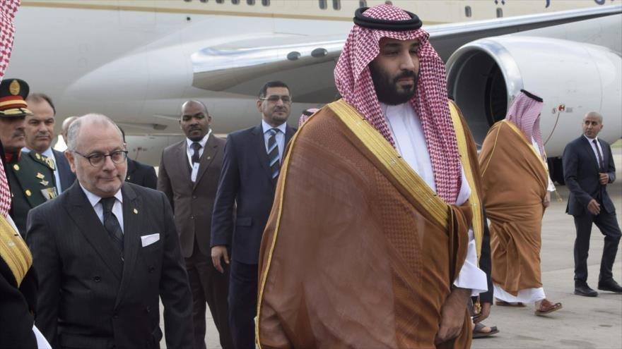 Argentina declara que el príncipe heredero saudí, bin Salman goza de inmunidad