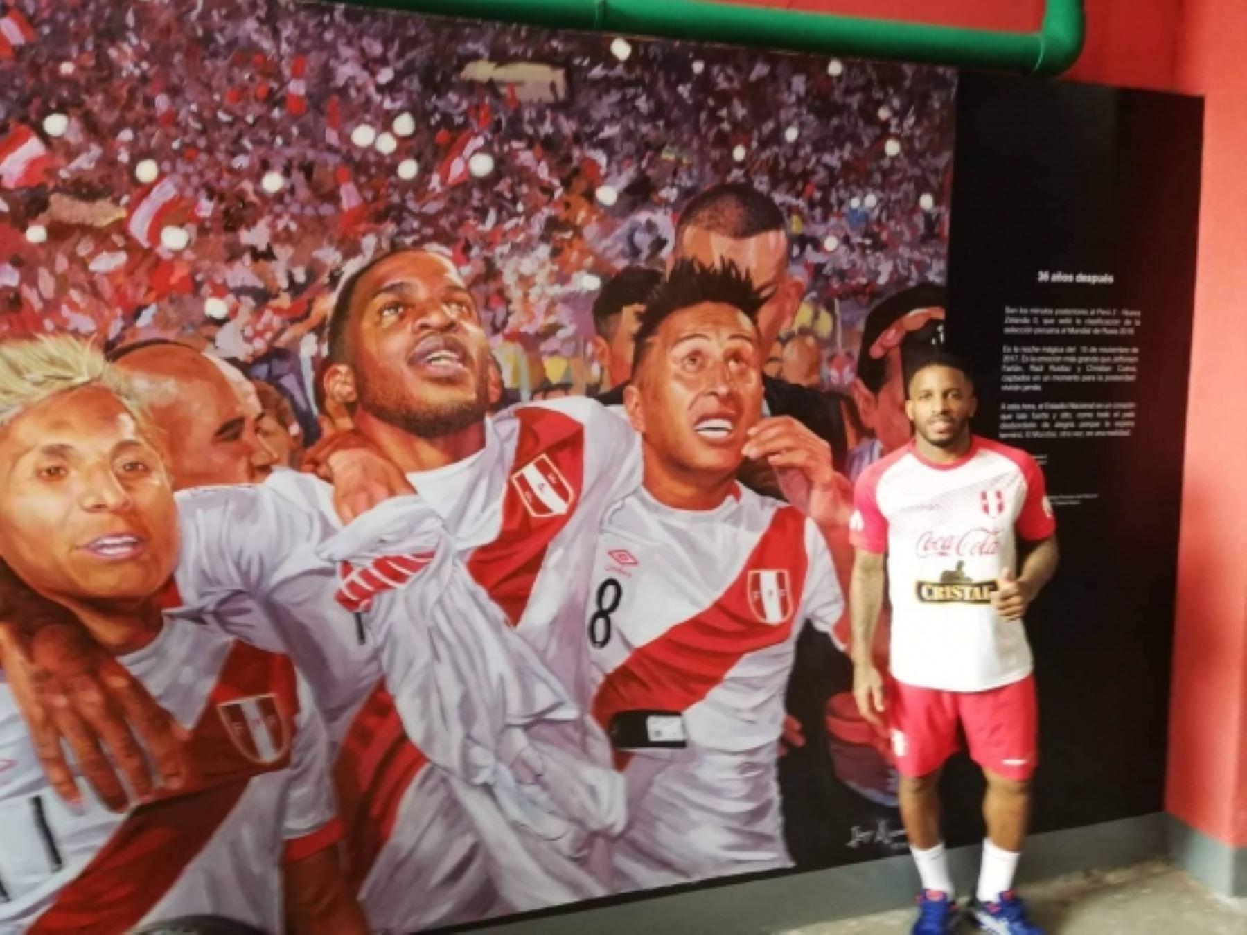Perú: Selección Peruana y su mural por clasificar al Mundial de Rusia 2018