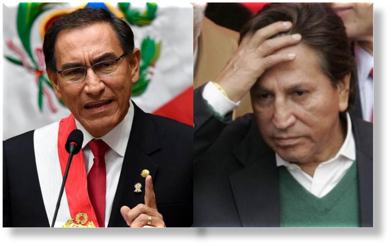 Martín Vizcarra: promete poner tras las rejas al cholo Toledo antes que termine su mandato
