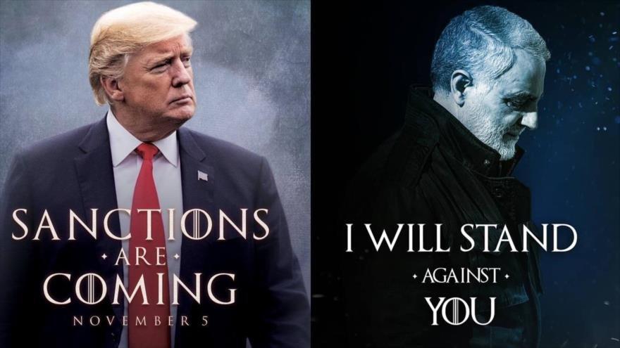 """General iraní a Trump: """"Yo puedo con contigo"""""""