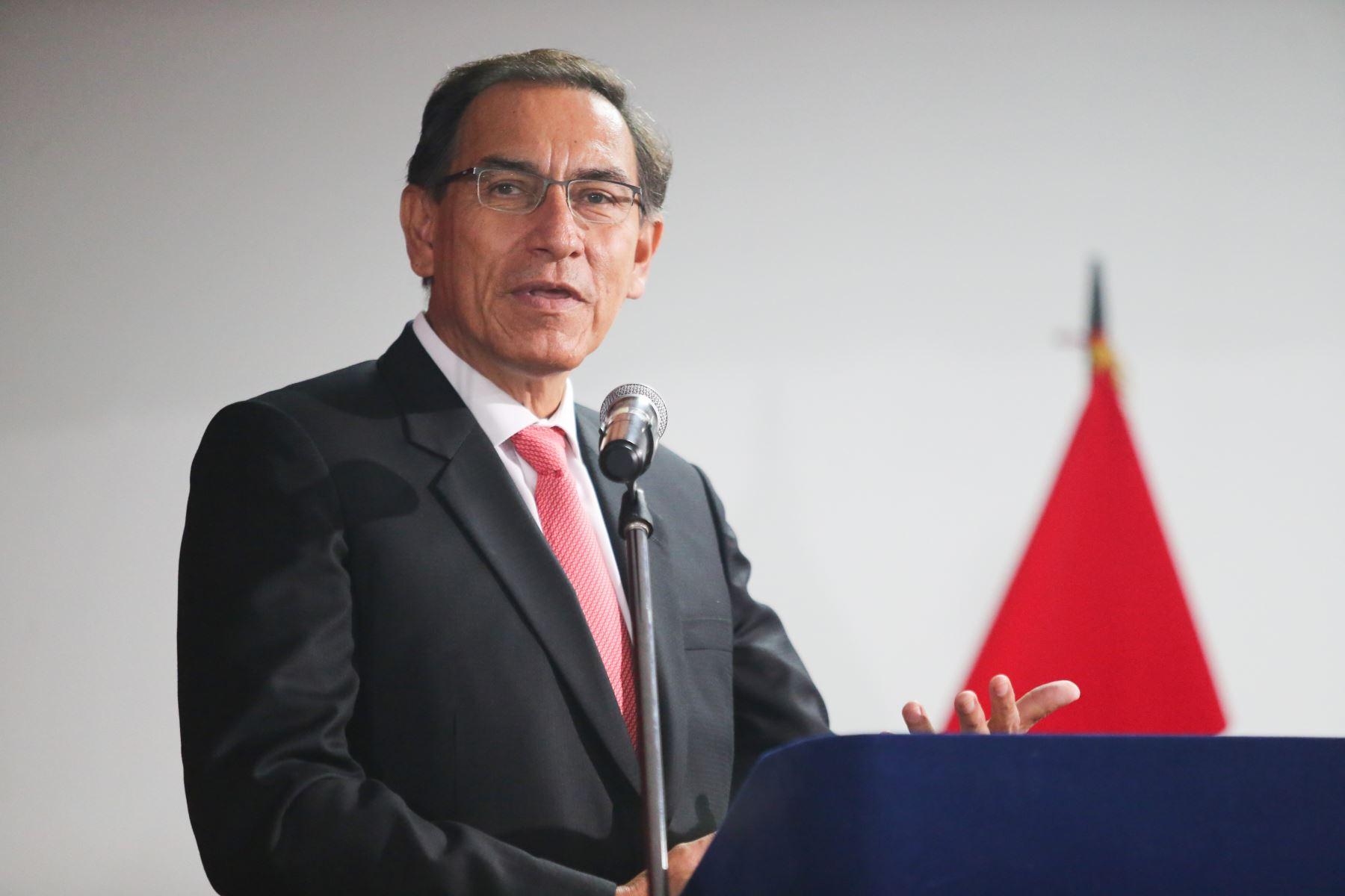 Presidente Vizcarra asegura que en el Perú hay seguridad para inversión