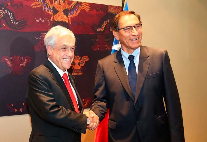 Perú y Chile firman 14 acuerdos tras II Gabinete Binacional en Santiago