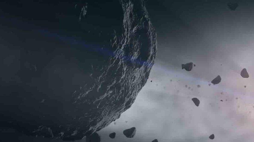 La NASA descubre agua en el asteroide Bennu
