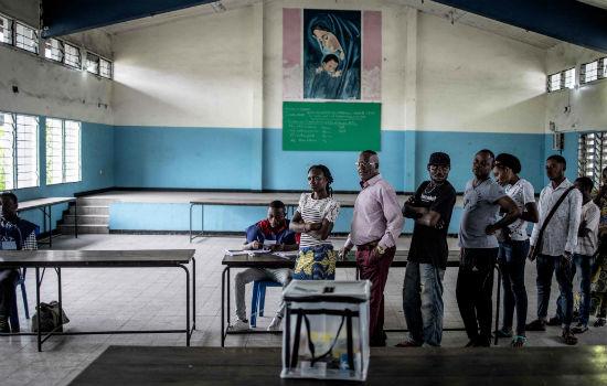 Gran afluencia de votantes en las elecciones en República Democrática del Congo