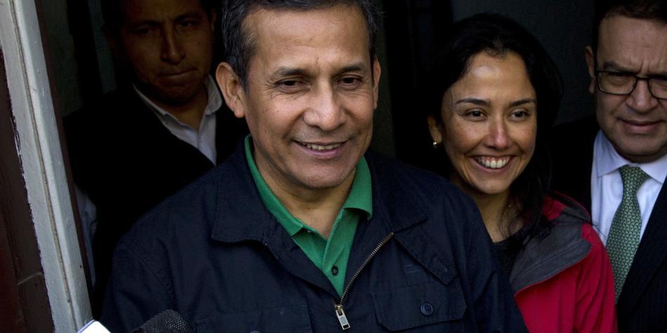 Por ser colaboradores eficaces Ollanta Humala y Nadine Heredia quedaran absueltos en enero
