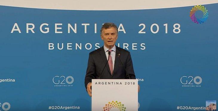 El presidente Mauricio Macri llega a un acuerdo en que la OMC debe eliminar trabas y burocracia