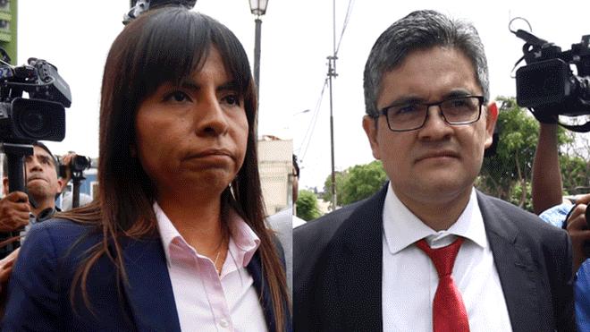 Fiscal Perez. Giulliana Loza dirijio una red de falsos testigos para favorecer a Keiko Fujimori