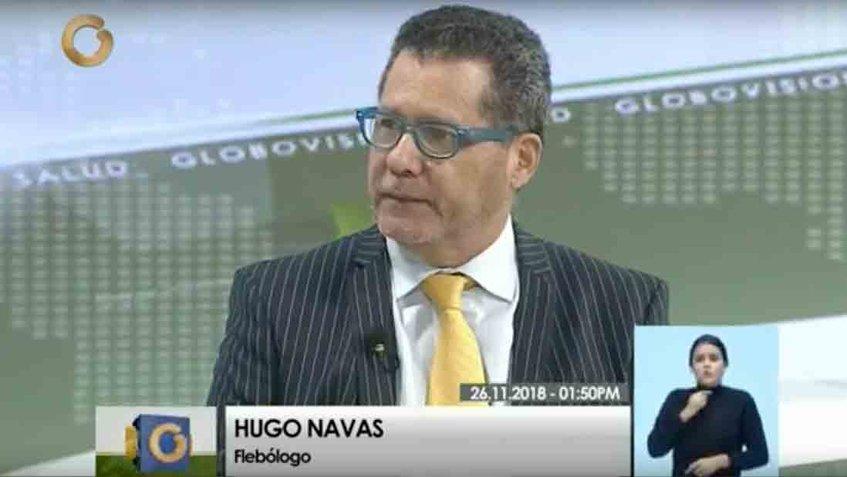 Hugo Navas Flebólogo revela el ¿Por qué aparecen Várices?