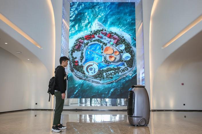VIDEO. No es ficción, el hotel del futuro en China ya es una realidad