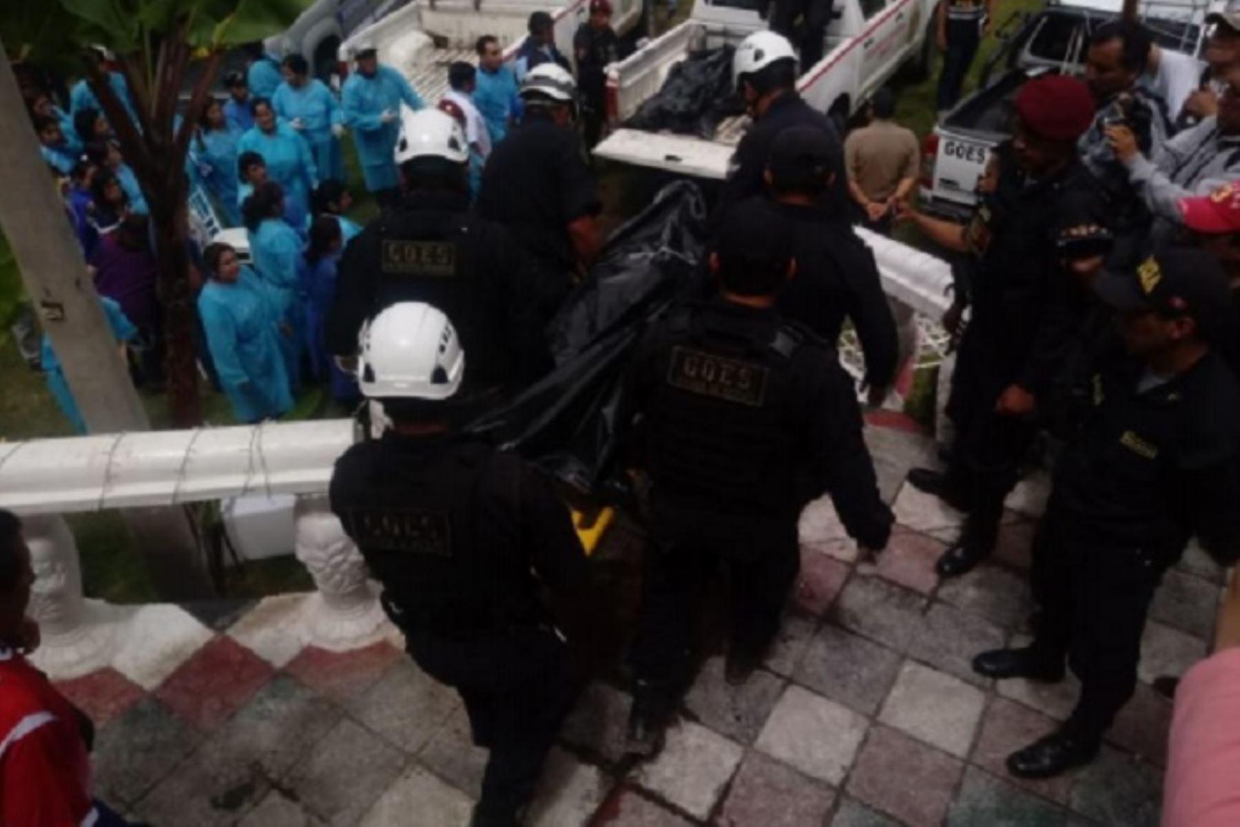 Perú: Son identificados 8 fallecidos y 22 heridos por una pared que colapsó en Apurímac