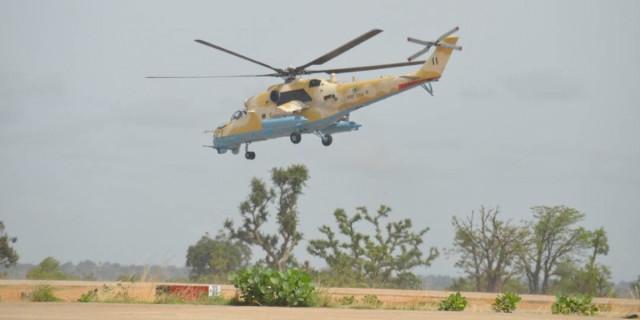 Un helicóptero militar de Nigeria se estrella en combate contra Boko Haram