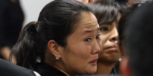 Keiko Fujimori entra en depresión tras ser ratificada la prisión preventiva