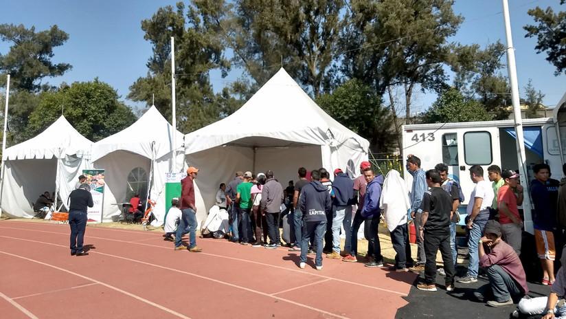 Esta es la cruda realidad de los migrantes que esperan en México poder entrar a EEUU