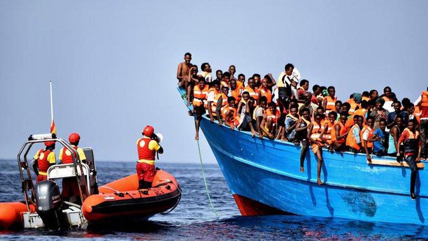 España rescata a más de 400 migrantes en los dos primeros días de 2019