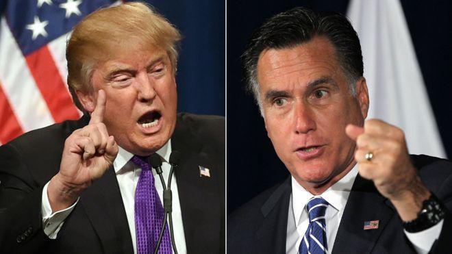 """Mitt Romney afirma que Donald Trump no está """"es un incompetente"""""""