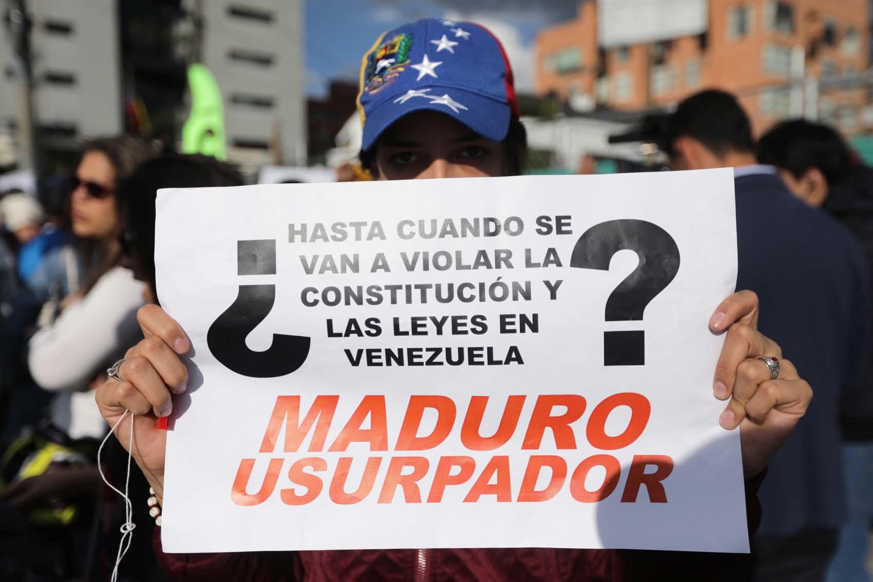 América aisla a Nicolás Maduro, que pierde cada vez más legitimidad y apoyo
