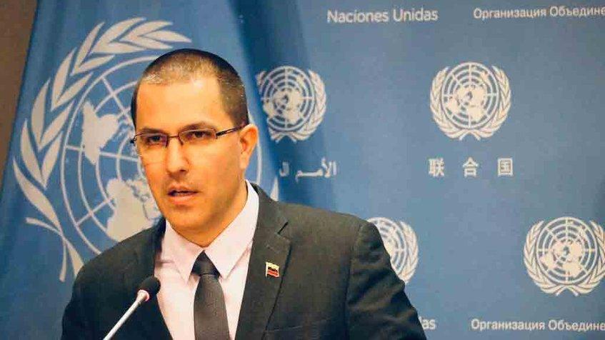 Canciller de Venezuela denuncia a EEUU por liderar una conspiración de agresión contra el país