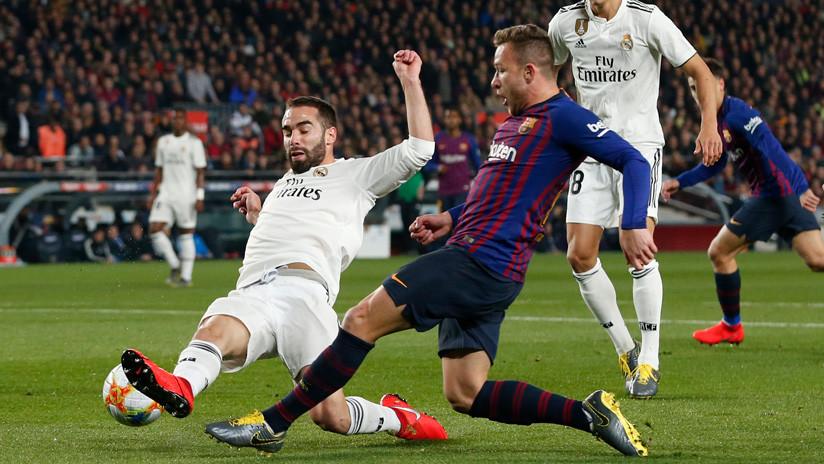 FC Barcelona y el Real Madrid empatan en el clásico de la Copa del Rey