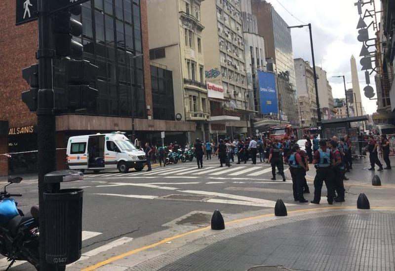 Buenos Aires: Fuego en un hotel deja tres heridos de gravedad