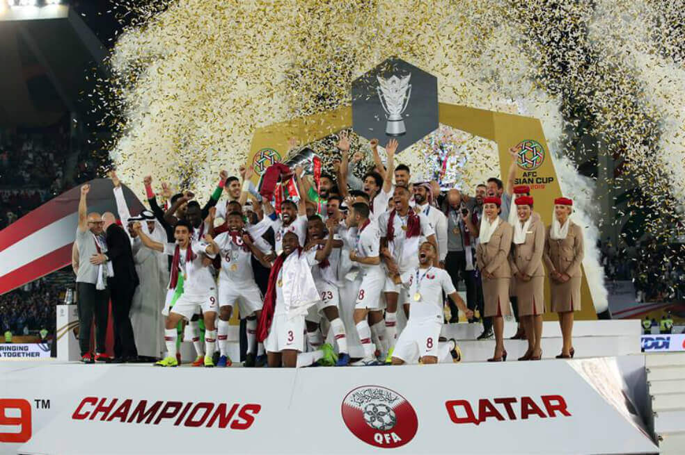 Catar es campeón de la copa asiática tras vencer a Japón 3-1