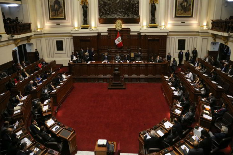 Es aprobada por el congreso peruano. Ley Orgánica de la Junta Nacional de Justicia
