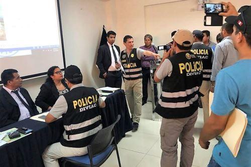 Perú. Ordenan prisión a red criminal los Estafadores de la Reconstrucción