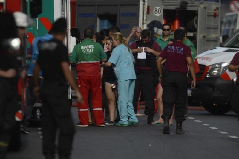Buenos Aires: Fallece la quinta mujer debido al incendio del Hotel de las Naciones