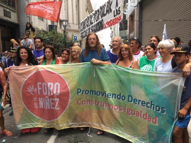 Argentina: Comienza una marcha en repudio a la baja de la imputabilidad