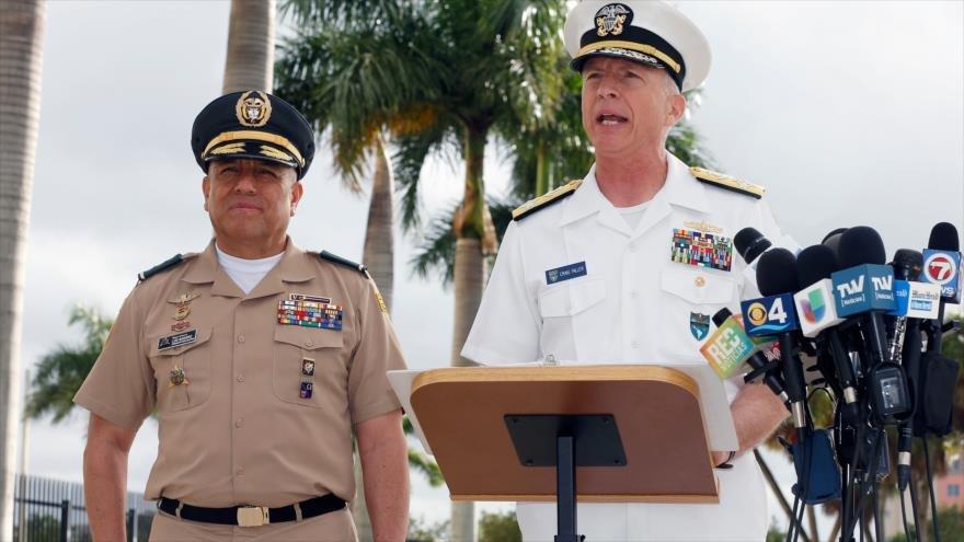 Militares colombianos y estadounidenses amenazan al ejercito venezolano con respecto al paso de la ayuda humanitaria