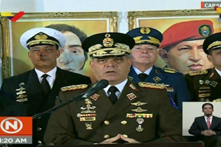 Ministro venezolano de Defensa: Acusa a Donald Trump de terrorista