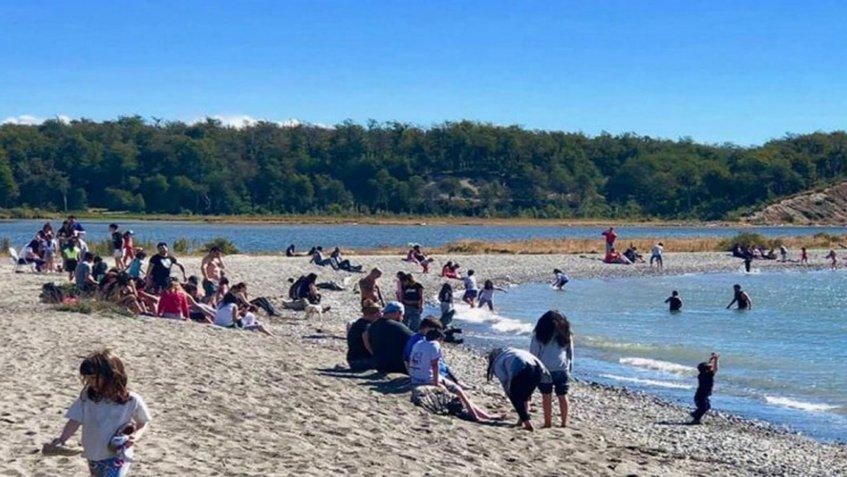 Ola de calor rompe récords en la Patagonia argentina