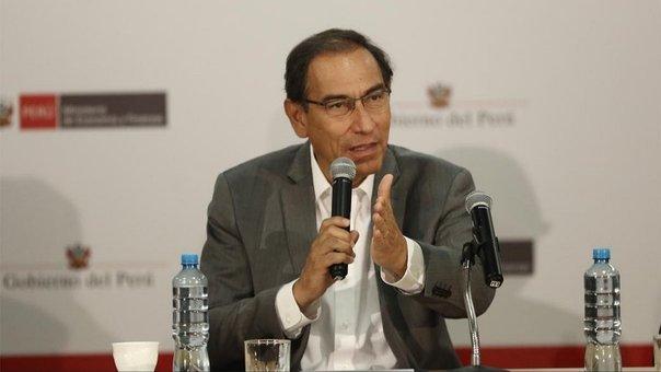 Presidente Vizcarra niega privatización del agua