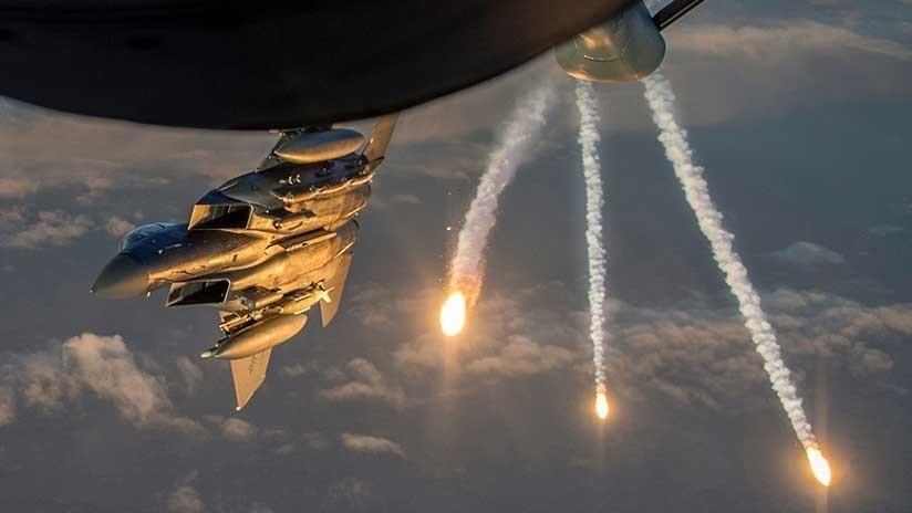 Siria: EEUU vuelve a atacar a Deir ez Zor con armas químicas y asesina a varios civiles