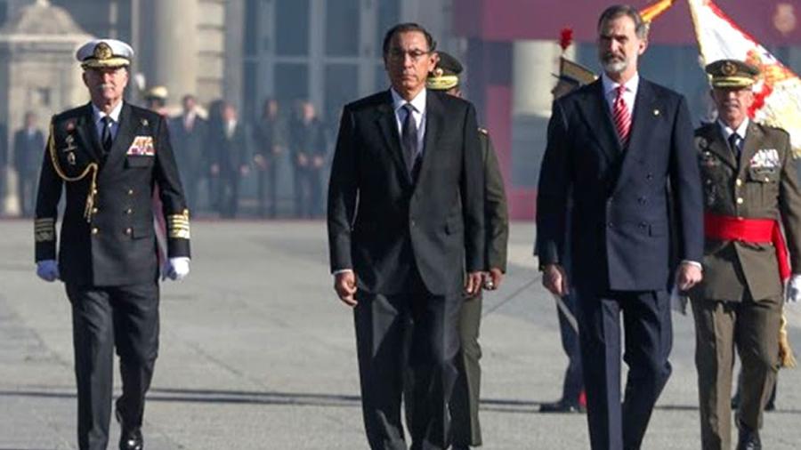 Perú: Martín Vizcarra adelantará su regreso a Lima desde España